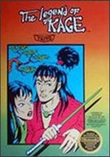 Legend of Kage,The - NES Game