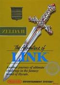 Adventure of Link Gold (Zelda II) Nintendo NES game box image pic