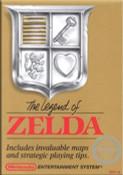 Legend of Zelda Gold Nintendo NES game box image pic