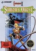 Castlevania II Simon's Quest Nintendo NES Game box image pic