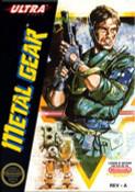 Metal Gear Nintendo NES game box art image pic