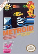 Metroid Nintendo NES video game box art image pic