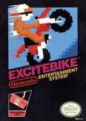 Excitebike Nintendo NES game box image pic