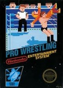Pro Wrestling Nintendo NES video game box art image pic