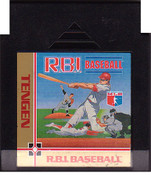R.B.I. Baseball (Tengen) - NES Game