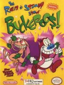 "Ren & Stimpy Show,The ""Buckeroo$"" - NES Game"