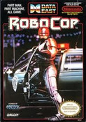 RoboCop - NES Game box cover