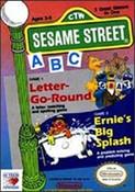 Sesame Street ABC Letter Go Round - NES Game
