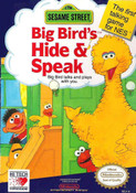 Sesame Street Big Bird's Hide and Speak - NES Game