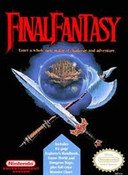 Final Fantasy RPG Nintendo NES game box image pic
