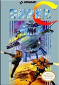Super C (Contra II) Nintendo NES game box image pic