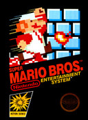 Super Mario Bros. Nintendo NES game box art image pic