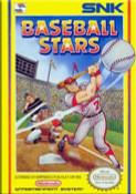 Baseball Stars Nintendo NES game box image pic