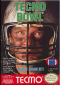 Tecmo Football Nintendo NES video game box art image pic