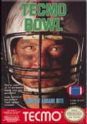 Tecmo Football Nintendo NES video game box art image pic