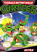 Teenage Mutant Ninja Turtles TMNT Nintendo NES game box art image pic