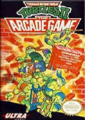 TeenageMutant Ninja Turtles II TMNT 2 Nintendo NES game box image pic