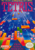 Tetris Nintendo NES game box art image pic