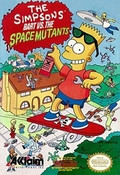 Simpsons Bart Vs. The Space Mutants - NES Game