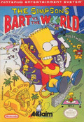 Simpsons: Bart VS The World - NES Game