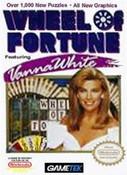 Wheel of Fortune Vanna White - NES Game