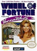 Wheel of Fortune Vanna White - NES Game