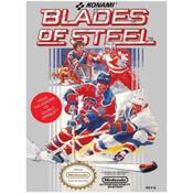 Blades of Steel NHL Hockey Nintendo NES game box image pic