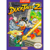 Duck Tales 2, Disney's Nintendo NES for sale game box image pic.