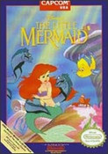 Little Mermaid, Disney's The - NES Game