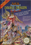 Double Dragon II NES Game box