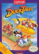 Duck Tales, Disney's Nintendo NES game box image