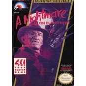 Nightmare on Elm Street, A - NES Game