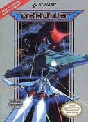 Gradius Nintendo NES Game box Image