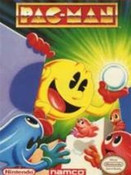 Pac-Man Rare Lable Namco - NES Game
