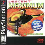 Descent Maximum Video Game For Sony PS1