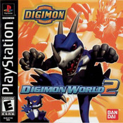 Digimon World 2 Video Game For Sony PS1