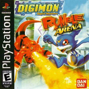 Digimon: Rumble Arena - PS1 Game