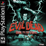Evil Dead Hail To the King - PS1 Game