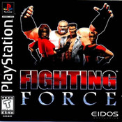 Fighting Force - PS1 Game