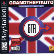Grand Theft Auto GTA London 1969 - PS1 Game