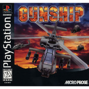 Gunship Game Video Game For Sony PS1