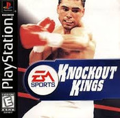 Knockout Kings Boxing - PS1 Game