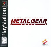 Metal Gear Solid - PS1 Game
