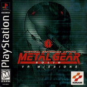 Metal Gear Solid VR Missions - PS1 Game