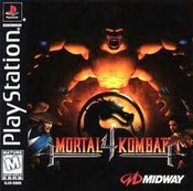 Mortal Kombat 4 - PS1 Game