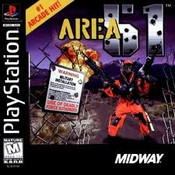 Area 51 - PS1 Game