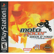 Moto Racer World Tour Video Game For Sony PS1
