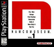 Namco Museum Vol. 1 - PS1 Game