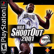 NBA Shoot Out 2001 - PS1 Game
