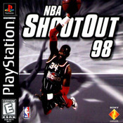 NBA ShootOut 98 Sony PS1 Basketball Game